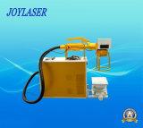 Máquina portable de la marca del laser de la fibra de la nueva mirada para el plástico
