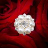 Rhinestone ramo nupcial joyería flor joyería