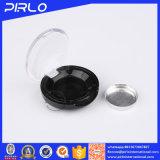 フリップ上の帽子の黒のプラスチック装飾的な瓶の小型構成の粉の瓶1g