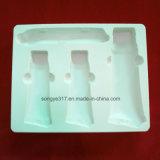 Weißes Kosmetik-Blasen-Verpackungs-Tellersegment