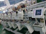 """Wonyo computarizou a máquina do bordado do tampão de 6 cabeças, máquina do bordado do t-shirt com 10 de """" preços da tela toque melhores"""