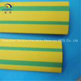 El verde amarillo eliminó la funda de la etiqueta de plástico del alambre del encogimiento del calor de la poliolefina