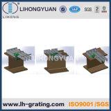 Reja de acero galvanizada del suelo para la plataforma de la estructura de acero