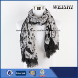 (WV6-1/2) 형식 색깔 15%Wool 85%Visco 남자 스카프