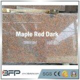 Os preços de grosso lustraram lajes vermelhas chinesas do granito para a venda
