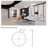 Suspendido circular LED LED techo del panel, redondo comercial LED lámpara colgante con 5 años de garantía