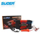 Lader van de Batterij van Suoer 12V 6A de Intelligente Slimme Snelle voor Navulbare Batterij (gelijkstroom-W1206)