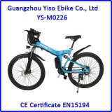 E-Bici plegable de la montaña de 26 pulgadas con el motor trasero sin cepillo