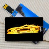 Amostra que faz a impressão de cor cheia imediata da vara da memória do cartão do USB 8GB