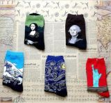 Neue Entwurfs-Berühmtheits-Avatarapatten-Kleid-Socke
