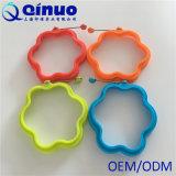 de blauwe FDA Vorm van de Pannekoek van de Ring Ei van het Certificatie van het Silicone