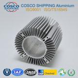 Het Profiel van het aluminium voor Heatsink met het Natuurlijke Anodiseren en het Machinaal bewerken