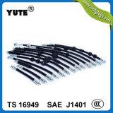 """De mangueira hidráulica flexível de Yute SAE J1401 Ts16949 1/8 """" para carros"""