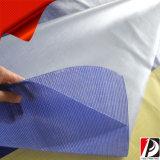 Im Freien hängende Art-Wand-Kunst-Zaun-Ineinander greifen-Fahne (MESB-01)