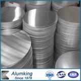círculo del aluminio 3003 5052 para hacer los Cookwares de aluminio