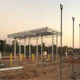 Metall-Gasstation-Gebäude verschüttete mit grossem Rabatt