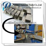 Segmento del diamante para el mercado de Irán la India Georgia Turquía Paquistán del granito