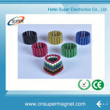 Spiel-Gebrauch-Farben-magnetisches Spielzeug der Weihnachtsspielzeug-Magnet-Tabletten-magnetische Kugel-5mm