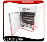 Incubateur automatique équipé d'oeufs de poulet d'incubateur d'oeuf de caille hachant la machine
