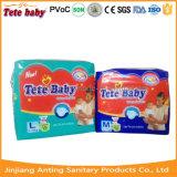 Tecido descartável sonolento do bebê que Pampering o fabricante do tecido do bebê em China