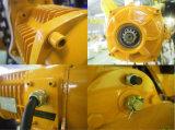 Alzamiento de cadena eléctrico del deber de 3 toneladas de alto con la carretilla eléctrica y manual