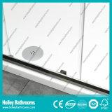Porta deslizante do chuveiro de alumínio do pivô com vidro laminado Tempered (SE939C)