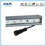 Luz linear 1200mm 18W do diodo emissor de luz que escurecem a luz de suspensão do sensor