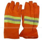 Кожаный перчатки заварки