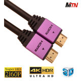 V1.4 высокоскоростной кабель локальных сетей HDMI