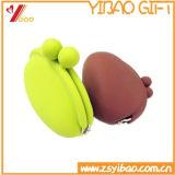 Изготовленный на заказ цветастый мешок силикона/мешок монетки силикона