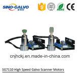 Varredor do Galvo da alta qualidade Sg7110 para a marcação do laser da fibra 20W