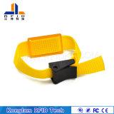 Wristband trenzado impermeable el de alta frecuencia RFID para las bibliotecas de enfriamiento