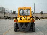 7ton China Dieselgabelstapler Isuzu Motor-Gabelstapler mit Kabine