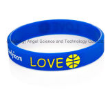 Выполненный на заказ Silk москит печати Repellent Wristband Sw01 силикона