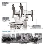 Grote Model Dubbele Hoofd Dalende EDM Machine dm2180-Ii