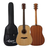 Guitarra acústica hecha a mano de Dreadnaught Cutway del fabricante profesional