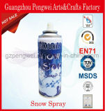 Blanco el 88% más aerosol de la nieve para la decoración del partido
