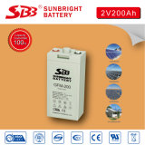tiefe Schleife-Sonnenenergie-Batterie AGM-2V200ah