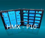Visualización de LED de alquiler del alto de la definición P10 funcionamiento a todo color de interior de la etapa