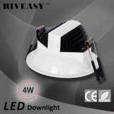 luz de techo antideslumbrante ligera de la iluminación LED de 4W LED Downlight LED