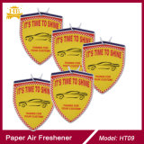 Saugfähiger Duft-Auto-Duftstoff-u. Luft-Erfrischungsmittel des Baumwollpapier-2mm starker Apple