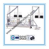 Berceau suspendu par aluminium sûr pour la construction