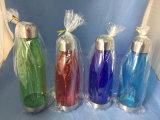 BPA освобождают выдвиженческую бутылку воды колы формы Tritan Bowliing с крышкой металла