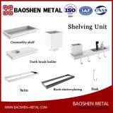 Gli accessori dei montaggi della stanza da bagno nell'unità della mensola dei prodotti dell'acciaio inossidabile
