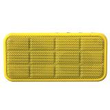 De nieuwe Mini Vierkante Rand van de Muziek van het Systeem van de Spreker van de FM van de Textuur van de Ritselen van de Spreker van Bluetooth van de Kubus Draagbare Radio Draadloze Correcte 3D Stereo