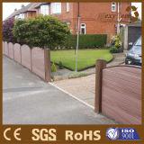 Nueva cerca compuesta de madera material del exterior del ribete DIY del jardín