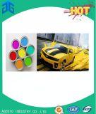 차 페인트 공장에서 다채로운 분무 도장