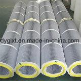Plastikohr-Polyester-antistatischer Filtereinsatz des deckel-sechs