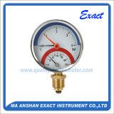 Indicateur de la température et de pression/manomètre thermo