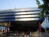 El panel compuesto de aluminio proyecta al exterior